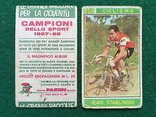 CAMPIONI DELLO SPORT 1967-68 n.256 STABLINSKY CICLISMO Figurina Panini (NEW) b