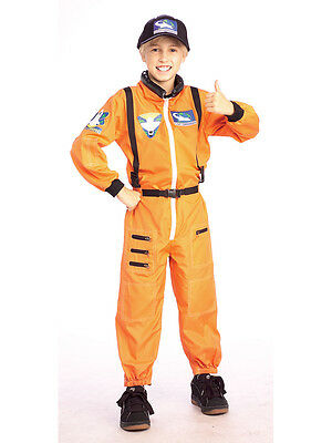 Child Spaceman Astronaut Fancy Dress Costume Space Boy NASA Kids Boys Outfit