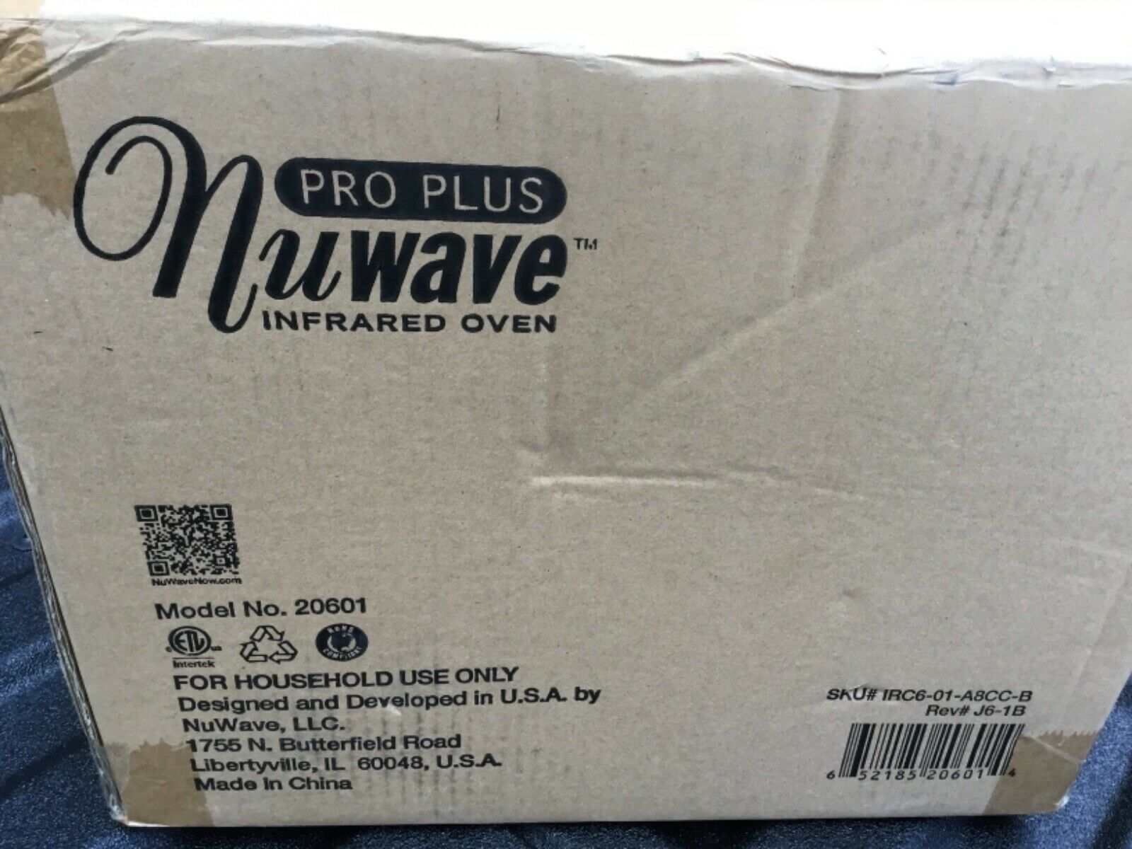 NuWave pro plus 20631 Infrared Oven - Yellow model 20601