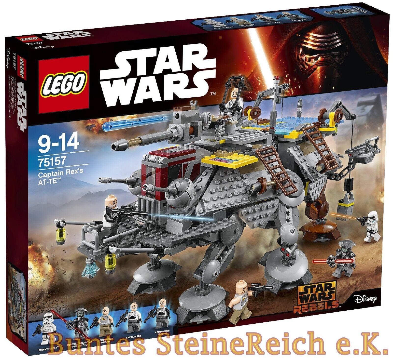 LEGO® Star Wars™: 75157 Captain Rex's AT-TE™ & 0.-€Versand   NEU & OVP