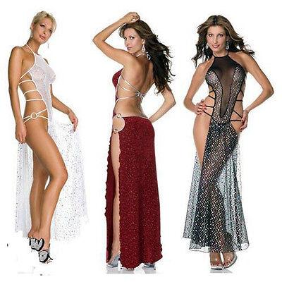 Womens Sexy Lace Lingerie Nightwear Underwear Sleepwear Babydoll Dress G-string