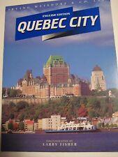 Original Vintage 1996 QUEBEC CITY Ontario Canada in Pictures 64 pgs