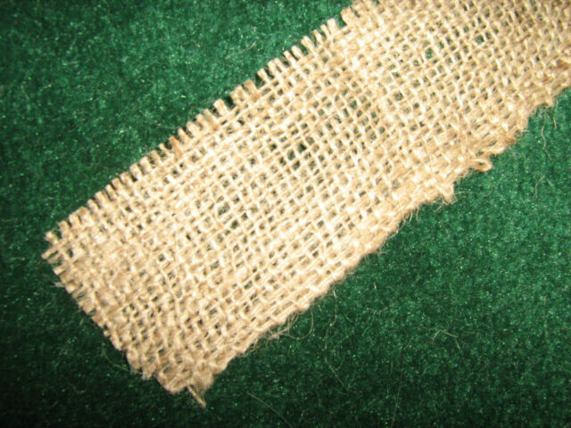 Burlap Ribbon 2 inches wide - ANY LENGTH - Weddings & Special Events- Natural