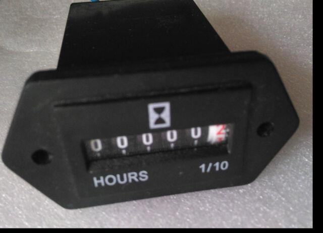 NEW REDINGTON ELECTROMECHANICAL HOUR METER 722-0004 7220004 3AE11
