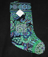 Vera Bradley Blue Rhapsody Stocking Please Read Everything
