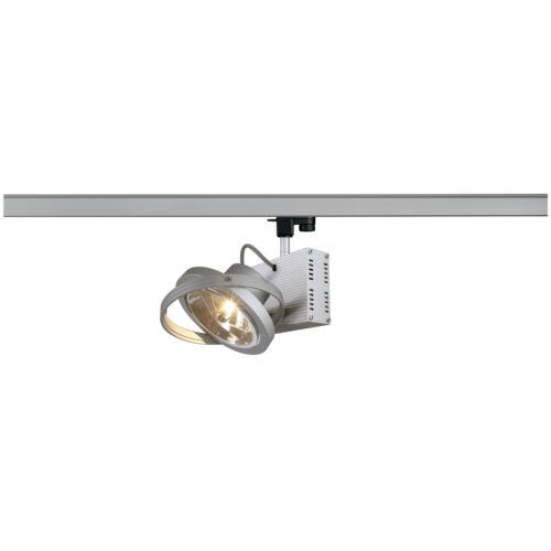 50W inkl. SLV 153002 TEC 1 QRB Spot silbergrau G53 max