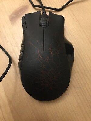 1343a5c9502 Razer Naga Molten Special Edition MMO Gaming Mouse 879862002213 | eBay