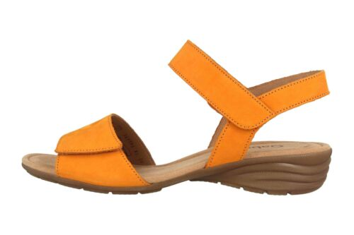 Gabor Sandaletten in Übergrößen Gelb 44.552.13 große Damenschuhe