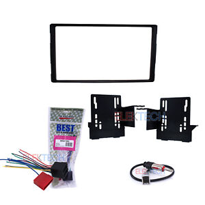 Radio Replacement Dash Mount Install Kit Double-DIN w//Harness for Hyundai