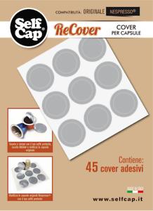 135 Recover per Nespresso per riutilizzare le capsule originali in alluminio