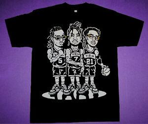 79247b97d9d5 New The Migos YRN basketball shirt supreme rap group Quavo offset ...