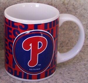 Coffee-Mug-Sports-MLB-Philadelphia-Phillies-NEW-11-ounce-cup-with-gift-box