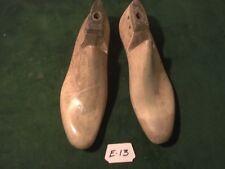 VINTAGE PAIR  1953 Wood Size 7-1//2 E JV FTK Shoe Factory Lasts Industrial   #450
