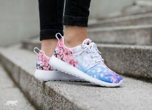 Details about Nike Roshe One Cherry Bls Blossom Women's 819960 100 White Pink Flower OG Rare
