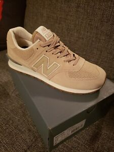competitive price superior quality attractive colour Details about New Balance 574 Classic Hemp Suede Size 11 Tan/Beige Sneaker  ML574ESF