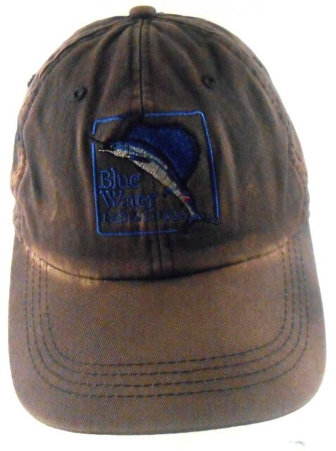 Blue Water Bait & Tackle Hilton Head Island Ahead Distressed Strapback Cap Hat