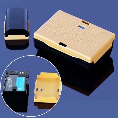4 X Soporte para caja de cubierta protectora de plástico Cajas Para Canon LP-E6 Batería EOS 5D BT