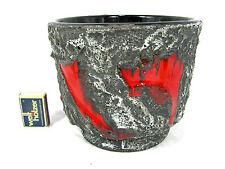 "Beautiful 70´s Italian ""Alla Moda"" pottery Keramik flowerpot Übertopf RM 40 / 18"