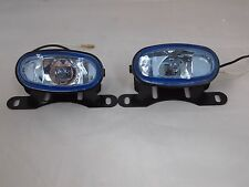 OVAL CAR JDM UNIVERSAL 12V H3 55W FOG LIGHTS DRIVING LAMPS HARNESS KIT CAR TRUCK