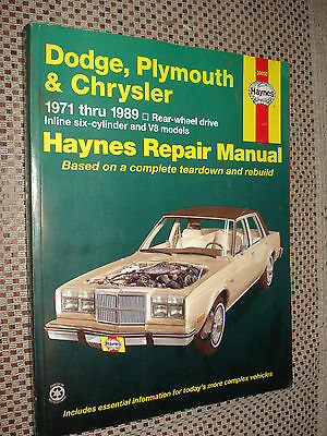 1971 Plymouth Shop Manual Set Barracuda Cuda Fury Valiant Duster Repair Service