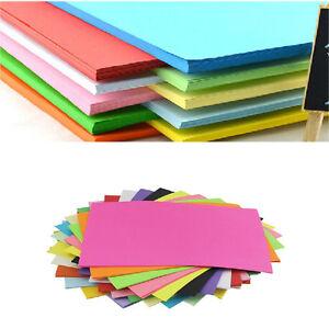 100-hojas-de-doble-cara-aleatorio-Colores-Papel-variados-Origami-A4-Cuadrado