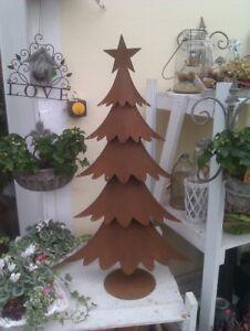 tannenbaum cm weihnachtsbaum deko rost metall. Black Bedroom Furniture Sets. Home Design Ideas