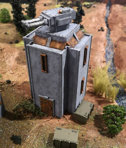 28mm Fortified Tower with Turret (Culverin Models)