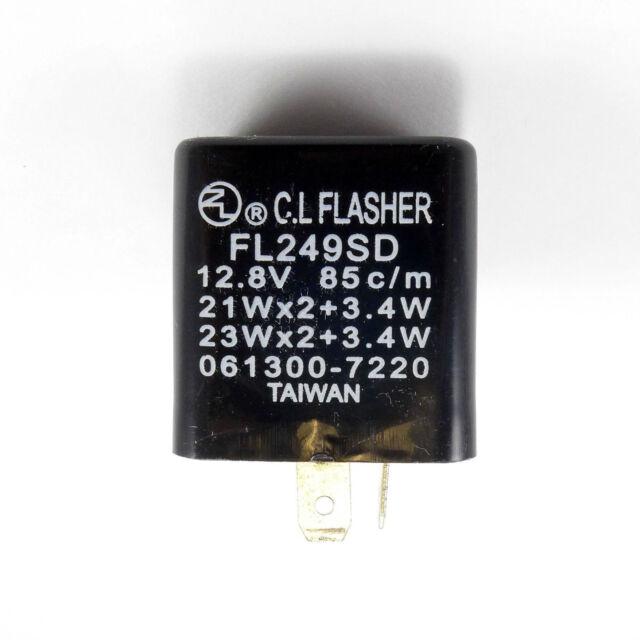 TMP Relais indicateur clignotants (Flasher) KAWASAKI ZR 750 C Zephyr 1991-1992