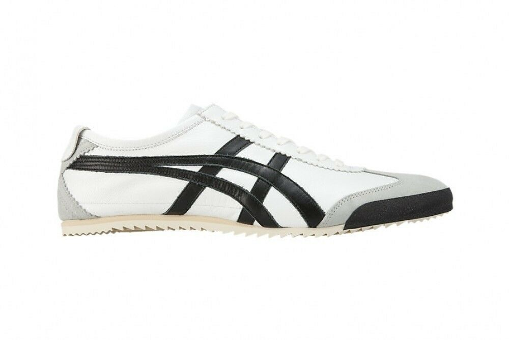 Asics Japan Onitsuka Tiger MEXICO 66 DELUXE 1181A012 White X black Free shipping