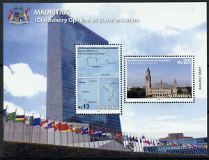 Mauritius-Flags-Stamps-2019-MNH-ICJ-Advisory-Opinion-Decolonisation-Maps-2v-M-S