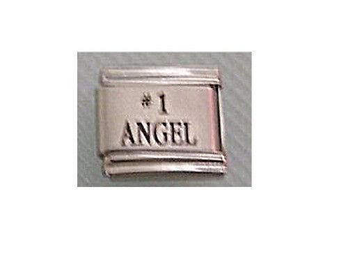 9mm Classic Size Italian Charm L47  # 1 Angel No 1