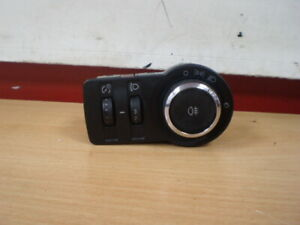 VAUXHALL-ASTRA-J-MK6-2010-2015-LIGHT-SWITCH-13268697