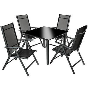 Aluminium-4-1-salon-de-jardin-ensemble-sieges-meubles-chaise-table-en-verre-gris