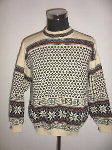 vintage-G-Pisano-Strickpullover-Strickpulli-norweger-oldschool-winter-hippie-L