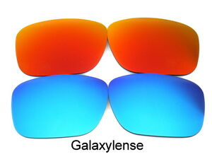 Replacement-Lenses-For-Ray-Ban-RB4165-Justin-Blue-Red-54mm-Polarized-2-Pairs