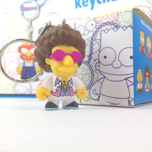New Disco Stu kidrobot Simpsons Vinyl Keychain Series