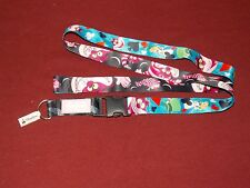 Disney Parks Reversible Alice In Wonderland Cheshire Cat Pin Trading Lanyard NEW