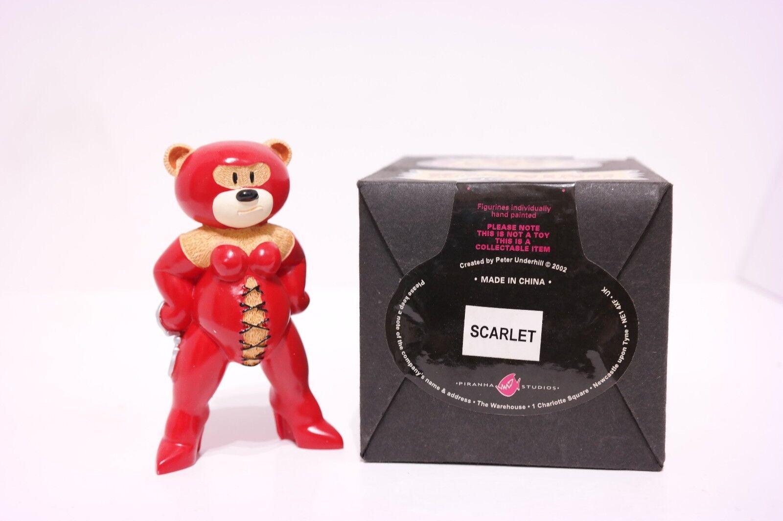 Bad Taste Bears * Scarlet * smobilizzato-Boxed