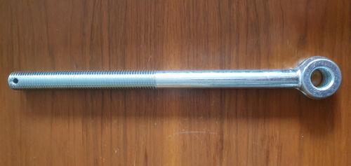 verzinkt 5 Stck. Augenschrauben Augenschraube M20x300//150 galv