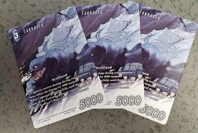 Final Fantasy TCG Cagnazzo PR-045//3-130R Full Art Foil Promo