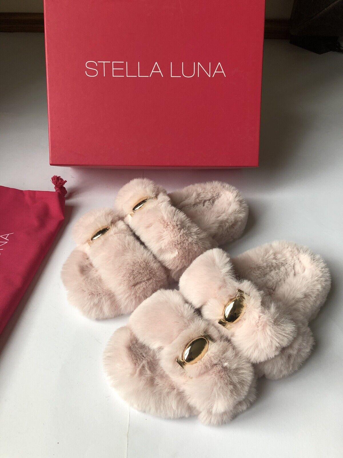 Stella Luna DESIGN SANDALS SHOES pink SIZE 37,5 NEW OVP L.P.245 Euro