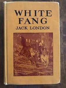 Vintage-Children-s-White-Fang-By-Jack-London-The-Macmillan-Company-1962-ExLib