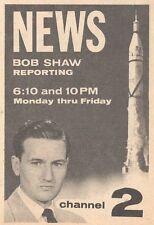 1959 KVOO TV AD~BOB SHAW~NEWS REPORT IN TULSA OKLAHOMA