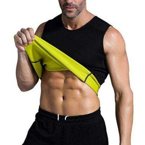 Men/'s Weight Loss Belly Belt Corset Neoprene Vest Sauna Sweat Body Shaper Sport
