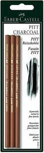 Faber-Castell-Charcoal-Pencil-Pitt-For-Drawing-Sketching-Pack-Of-3-Pcs