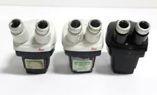 Bausch And Lomb Amp Leica Stereo Microscopes Lot Of 3