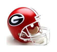 Georgia Bulldogs Riddell NCAA College Football Deluxe Replica Full Size Helmet