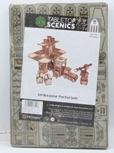 TTCombat TTSCW-SFG-070 Strikezone Factorium Terrain Kit Factory Sci-Fi Gothic