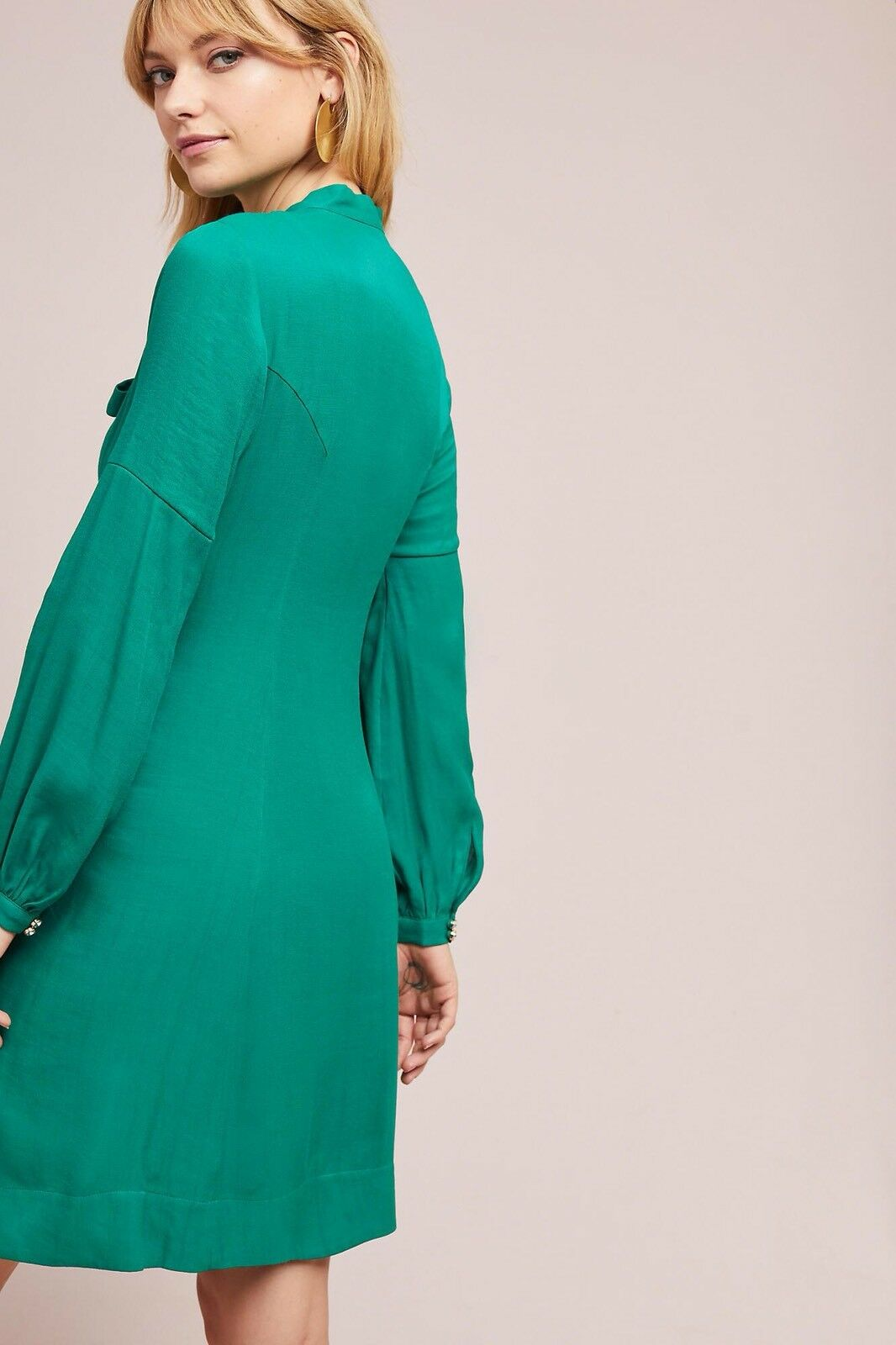 906f14e3111 ... NWT New New New Anthropologie Gina Keyhole Dress by Moulinette Soeurs  Green Size 2 f7404a ...