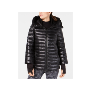 Calvin-Klein-Womens-Down-Filled-Hooded-Puffer-Jacket-Oxford-Size-Large
